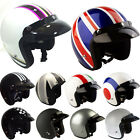 Viper RS04 Open Face Motorbike Motorcycle Helmet Scooter Crash Jet Retro Vintage