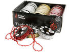 4.5 Metre Wired Tassle Ribbon Christmas Decorations/ Arts And Crafts (PM6)