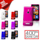 Nokia Lumia 610 Grip Series S-Line Jelly Case Cover With Grip + Screen protector
