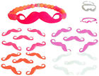 """Hottest Summer Trend"" NEON Infinity Curve Mustache Connector Beads♥ lady-muck1"