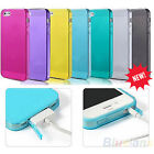 Anti-dust Soft Rubber TPU Protective Case Cover Skin for Apple iPhone 4/4S BE2A