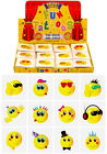 12 Mini Smiley Temporary Tattoos Boys Girls Kids Party Bag & Stocking Fillers