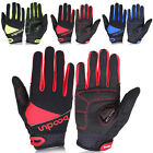 PJ Men's Outdoor Sports Cycling Bike Bicycle Full Finger Gloves 3 Size S~L
