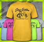 STAY GOLDEN GIRLS THANK YOU FOR BEING A FRIEND 1980'S VINTAGE STYLE T-SHIRT TEE