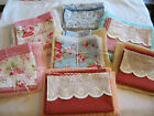 Dolls Pram Sheets & Blanket Set **NEW** Crochet Blanket or Fleece