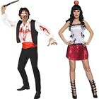 Halloween Fancy Dress His n Hers Knife Thrower & Assistant Costumes 1st Class