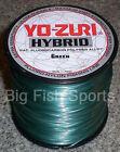YO-ZURI HYBRID Fluorocarbon Fishing Line 600yd GREEN COLOR NEW! PICK YOUR SIZE