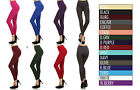 PLUS SIZE Pack SEAMLESS Footless Winter Warm Thick Stretch Fleece Legging XL/2XL