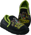 Boys Size 7 - 1 Black Green TEENAGE MUTANT NINJA TURTLES Full Slippers NEW Chuck