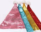 4PCS Christmas Decoration Gifts / Sequins Christmas Ornaments Hat
