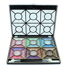Saffron 30 Colour Eyeshadow Palette Make Up Gift Set Kit - S8038AB