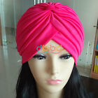 Women&Men Turban Hat Hair Head Wrap Cap Headwrap Indian Style Stretchable OCUK