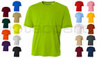 A4 Mens New Dri Fit Workout Running Cooling Performance T Shirt S 4XL N3142
