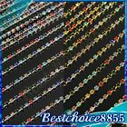 Colorful Crystal Rhinestone Chain Line Finding Nail Art Tip Craft Decoration New