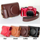 Leather Camera case bag Grip Strap for Canon POWERSHOT SX170is SX170