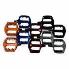 DX STYLE 9/16 ALLOY MOUNTAIN OR BMX BIKE FLAT PLATFORM PEDALS VARI