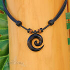 leather necklace surfer chain wood indian jewellery