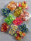 20 mini Frangipani Latex Foam Flowers Wedding Decorations Various colours 2cm