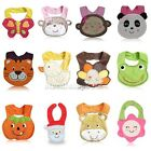1pcs/lot New brand Animal Cotton Baby bibs Infant saliva towels Waterproof bibs