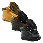 Mens Work Boots Safety Lace Up Ankle Shoes Steel Toe Cap Groundwork Footwear