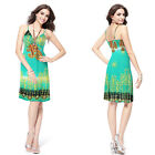 Sexy V Neck Short Summer Beach Party Cocktail Dress 05039 Size 8 10 12 14 16 18