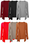 Women Ladies Cardigan Boyfriend Pocket Open Jumpers Top Long Sleeve Size SM/ML