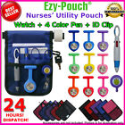 NEW! High Quality Nurse Vet Pouch Pocket Heart Silicon Fob Watch Pick Bonus Pack