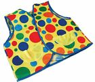 New Spotty Clown Accessories Fancy Dress Wig Shoes Tie Hat Waistcoat Unisex