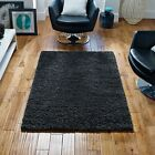 Super Shaggy Rugs - Grey | A High Pile Quality Plain Shag Pile Rug Large Sizes