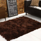 Lush Brown Rugs | A Shaggy Pile Rug With a Sumptuous Pile | 3 Rectangles 1 Round
