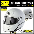 NEW! SC777K OMP GP 7S K HELMET KART KARTING NEW MODERN DESIGN BY OMP SIZES S-XL