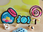 12pcs candy iron or sewing on Appliques Cloth Embroidered fabric sticker patch