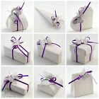 Luxury DIY Wedding Party Favour Gift Boxes - Sorgente Bianco Antique Off White