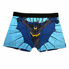 NEW MENS BATMAN BOXER SHORT OFFICIAL CHARACTER NOVELTY TRUNKS EX CHAINSTORE S-XL