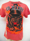 ED HARDY CHRISTIAN AUDIGIER MENS  PLATINUM STUDDED PANTHER TEE SHIRT NWT STUD