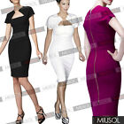 Ladies New Womens Elegant Formal Business Evening Bodycon Dresses Size 8102468