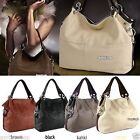 Woman Ladies Fashion Bycast Leather Handbag Tote Shoulder Bag Perfect Gift