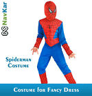 Red and Blue Spiderman Costumes for Kids | Birthday Gifts | B'Day Gift for Boys