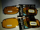"CLIP-ON NIGHT DRIVING SUN-GLASSES 54MMx30MM (2-1/8"" x 1-3/16"" ) YELLOW LENSES"