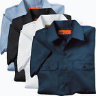Men's work Shirts Dickies Premium Industrial Short Sleeve Shirt W/Flaps LS504
