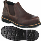 Men Work Boots Red Wing Irish Setter Steel Toe Romeo Slip-On Leather Shoes 83300