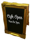 "Frames By Post Swept 30"" x 20""*A-Board*Chalkboard/Blackboard In Various Colours"