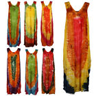 Womens New Printed Ladies Holiday Sequin Swimwear Beach Cover Up Dress Size 8-14