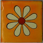 Mexican Tile Folk Art Handmade Talavera Backsplash Handpainted Mosaic # C328
