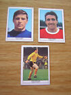 Anglo Confectionary 69/70 Football Quiz Trade Card  -Select From Below