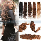 Brazilian 100% Natural Unprocessed Wave Weaving Human Hair Extensions Weft 50g