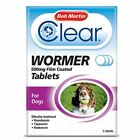 Bob+Martin+Clear+Wormer+Tablets+Small+Dog+Large+Dog+Puppy+Worming+Treatment