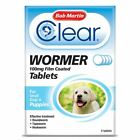 Bob Martin Clear Wormer Tablets Small Dog Large Dog Puppy Worming Treatment