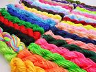 1.5mm Rattail Cord Macrame Braided Nylon Thread for Shamballa Bracelet Necklace