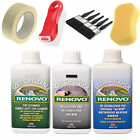 Renovo Convertible Hood Soft Top Reviver Kit Choose Kit Colour - 500Ml 3 Pack
